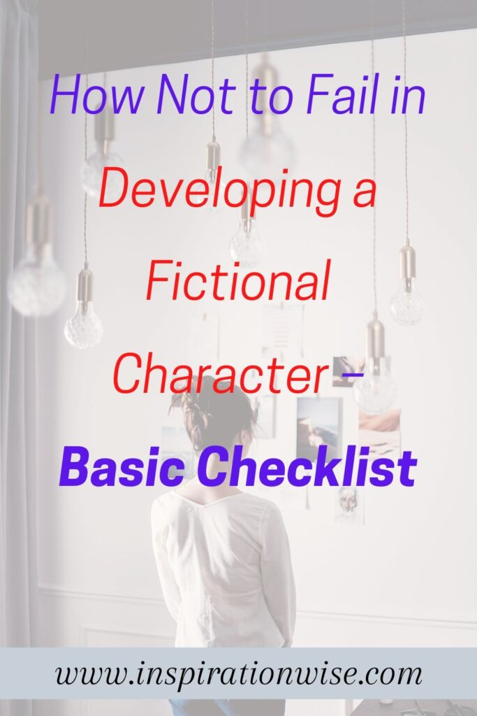 Developing a Fictional Character